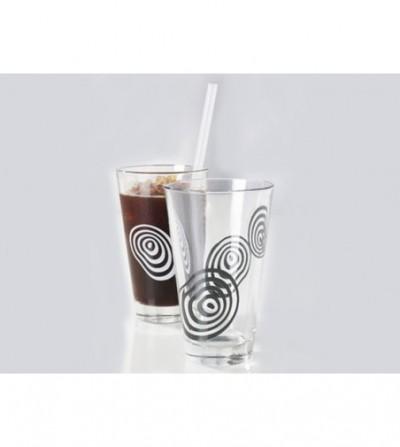 Set pahare sticla, Finger Print